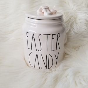 NEW Rae Dunn EASTER CANDY Canister Jar